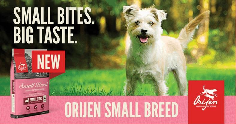 New Product - Orijen Small Breed Bag